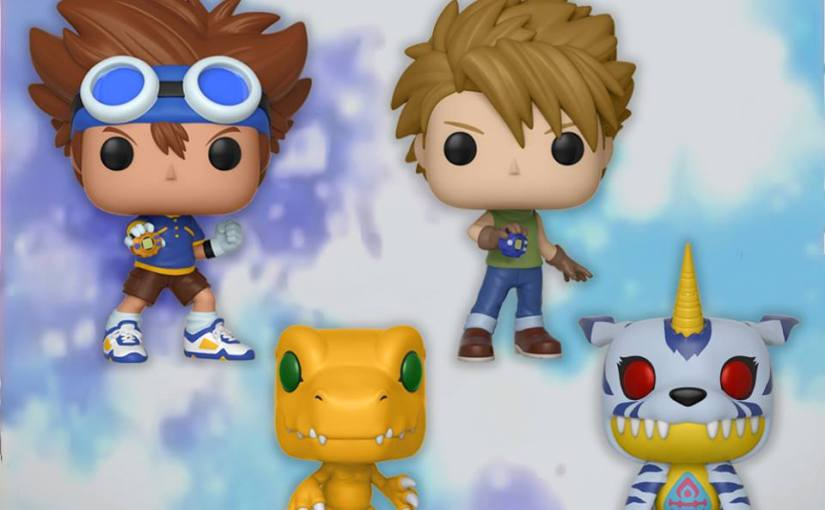 Funko to release Digimon Pop Figures!