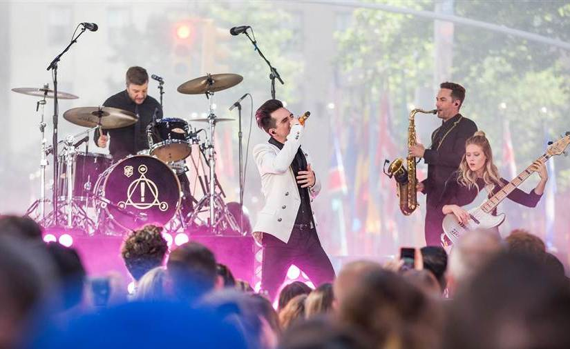 Panic! At The Disco Performs New Songs on TODAY Show!