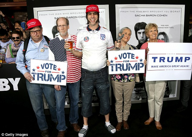 VIDEO: Sacha Baron Cohen hints at new Trump-relatedproject