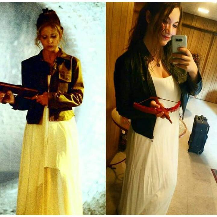 That time I dressed up as Buffy to slay my own demonsaway