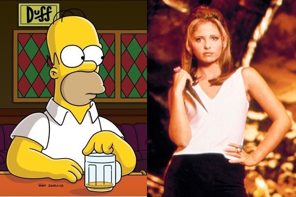 How The Simpsons Helped with Watching Buffy The Vampire Slayer