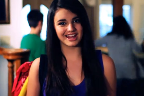 It might be Friday but Rebecca Black is way pastthat.