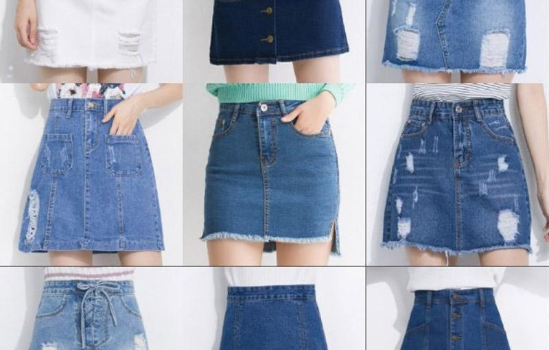 So the Mini Jean Skirt is a Thing Again Apparently?