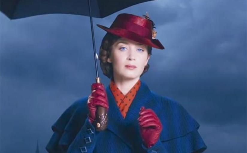 "Disney Releases Official Trailer for ""Mary Poppins Returns"""