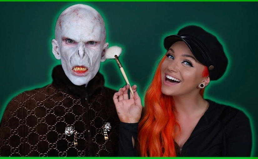 Jeffree Star Transforms Into A Fancy Lord Voldemort