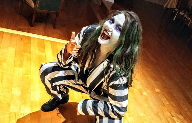 In A Party Full Of Slutty Angels, I Was A Classic Beetlejuice