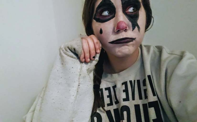 Semi Clown/Mime Make-Up for Halloween