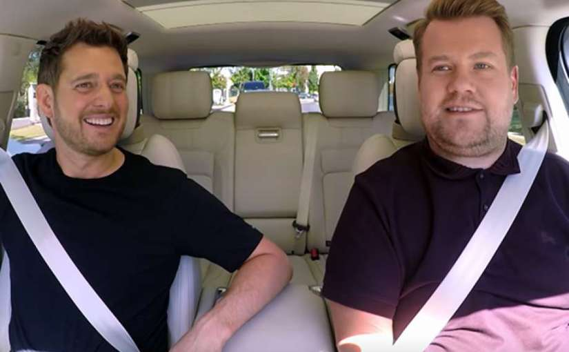 Michael Bublé Opens Up About Son's Cancer Battle During 'CarpoolKaraoke'