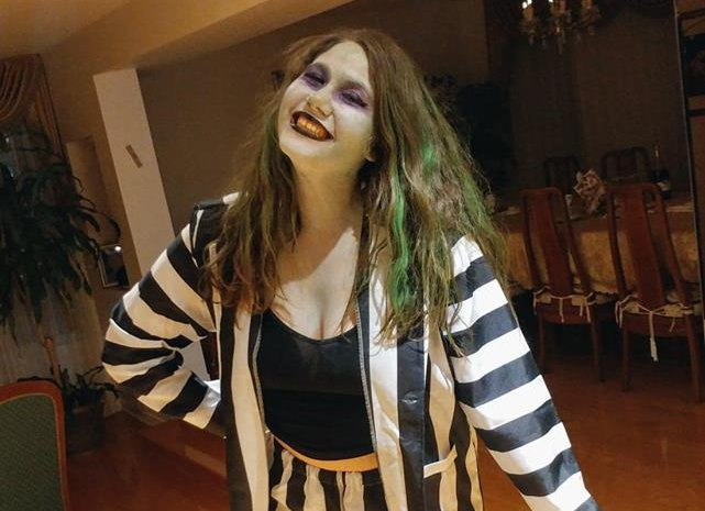 My Halloween Costume:Beetlejuice