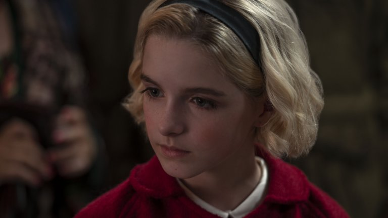 Actress McKenna Grace Will Be Playing Young Sabrina On 'Chilling Adventures of Sabrina' For Holiday Special