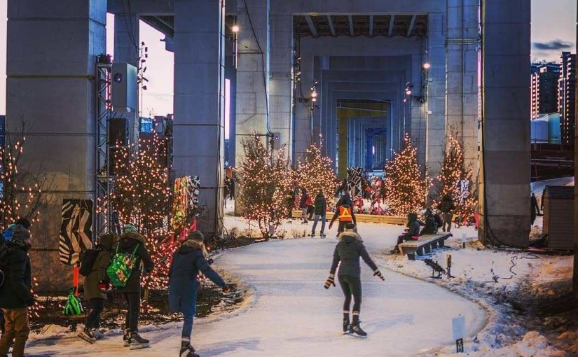 Toronto's Longest Skating Ice Trail Is Coming Back Next Month