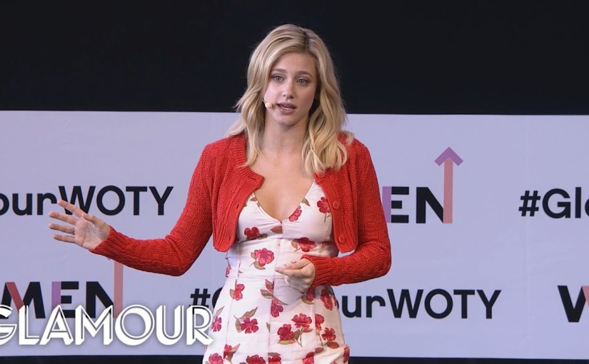 Riverdale's Lili Reinhart Opens Up About Body Shaming In Women Of The Year Speech