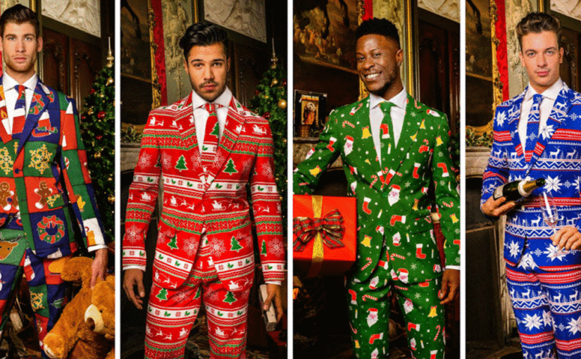 3 Piece Christmas Suits Available At The Bay