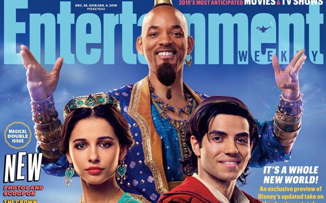 Entertainment Weekly & Disney Releases First Look Photos From 'Aladdin'