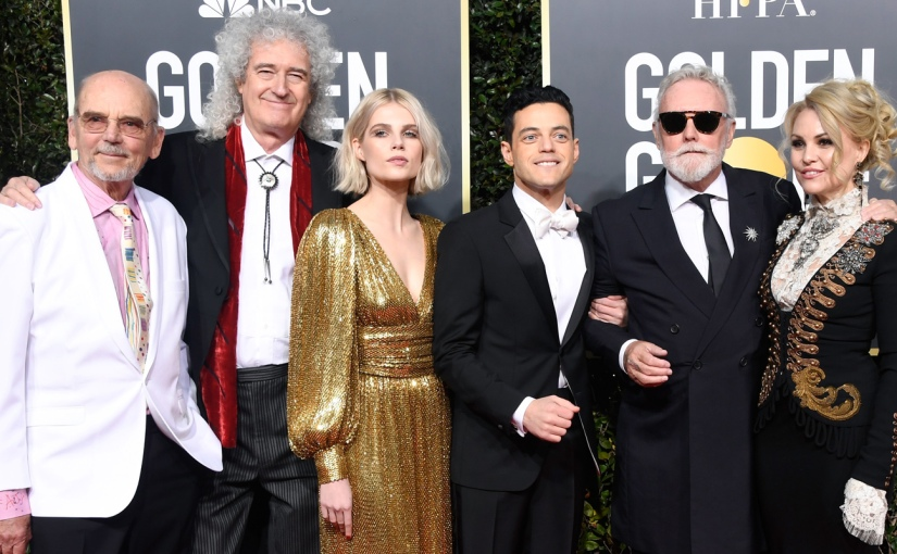 'Bohemian Rhapsody' Wins Big At The Golden Globes